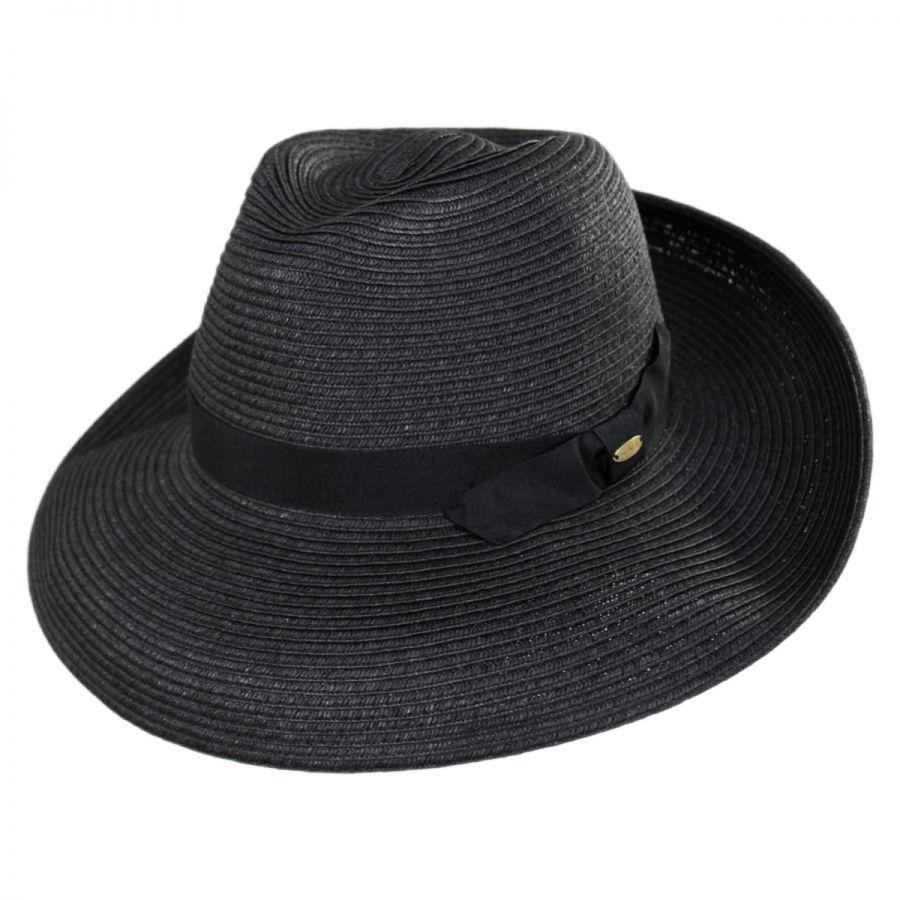 a87ec36402a Scala cumbria toyo straw fedora hat straw fedoras jpg 900x900 White fadora