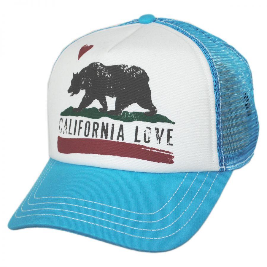 California Love Trucker Snapback Baseball Cap Snapback Hats 43cca0bc438