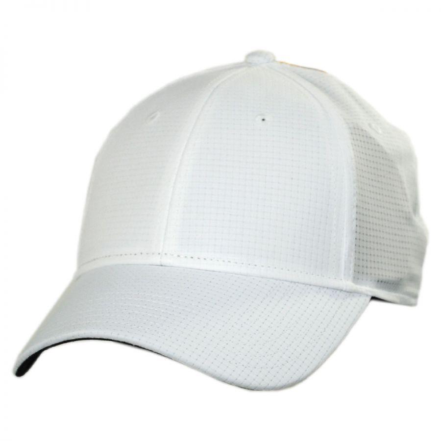 Dorfman Pacific Company Loch Ness Perforated Nylon Baseball Cap All ... c7691c940