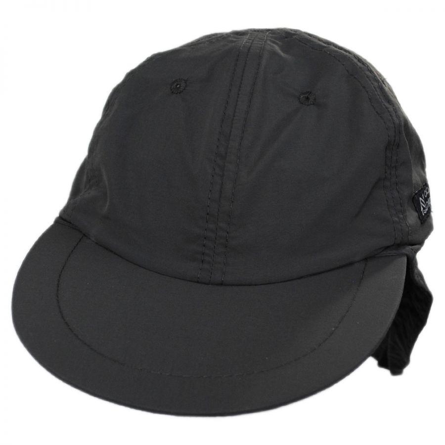 Dorfman Pacific Company Excavator Nylon Fishing Flap Cap All ... a78a95a03cef