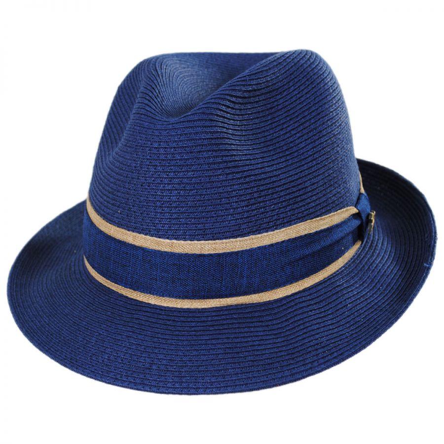 Tommy Bahama Daiquiri Toyo Straw Fedora Hat Straw Fedoras 8e1b1c523cf