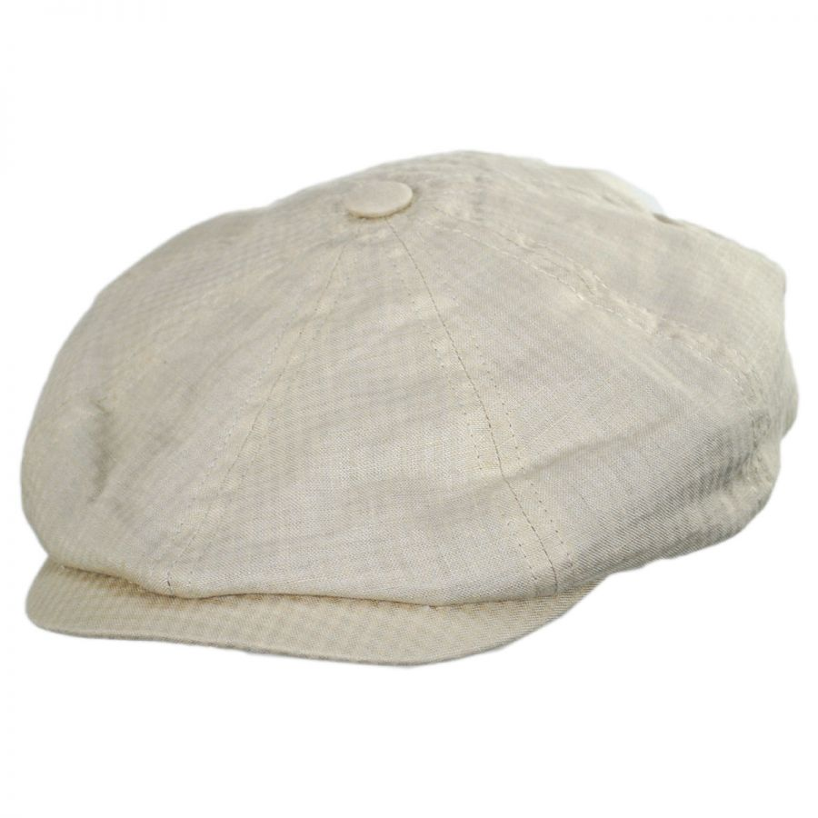 aadc5f6ea53 Bailey Massey Cotton and Linen Newsboy Cap Newsboy Caps