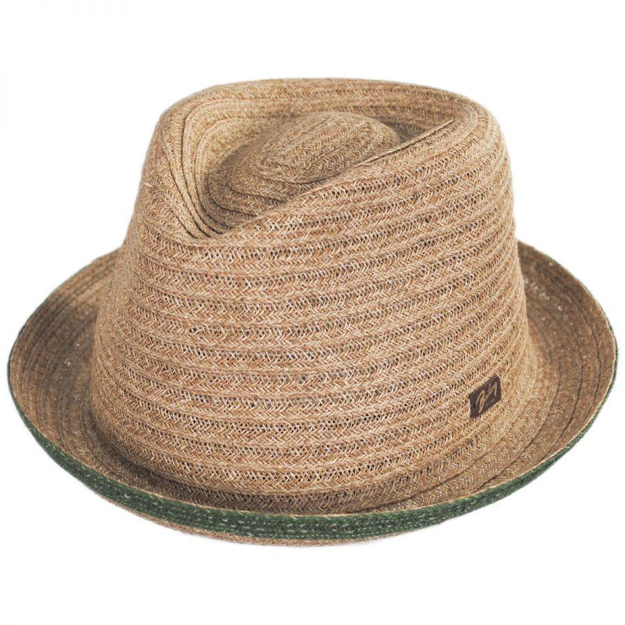 Bailey Noakes Toyo Straw Fedora Hat Straw Fedoras e849928f149