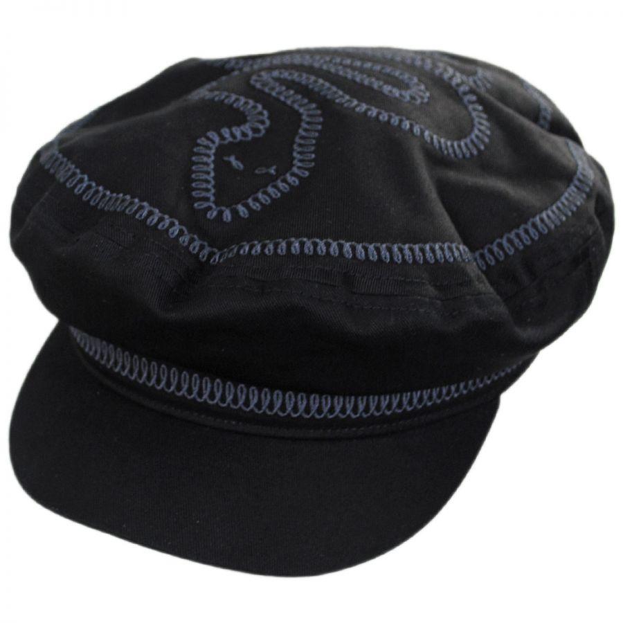 526d7dbf Brixton Hats Serpent Cotton Fiddler Cap · Enlarge Image · Serpent Cotton  Fiddler Cap alternate view 1
