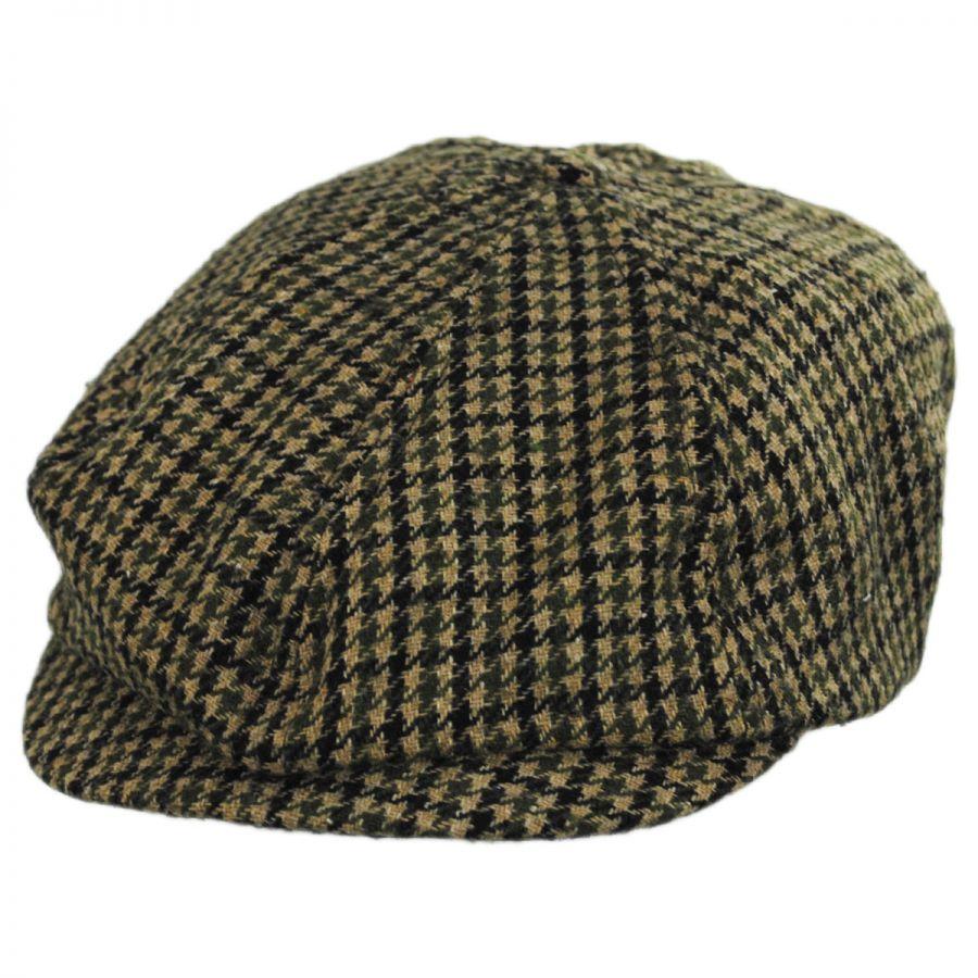 ce21d175 Brixton Hats Brood Adjustable Houndstooth Wool Blend Newsboy Cap ...