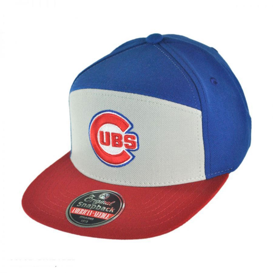 american needle ante chicago cubs snapback baseball cap