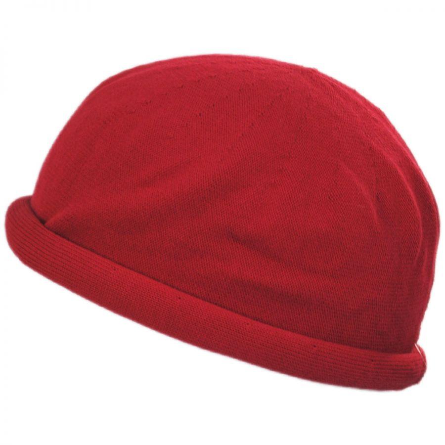 Parkhurst Roller Cotton Beanie Hat Beanies 4988233af0e3
