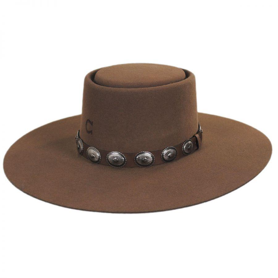 Charlie 1 Horse High Desert Wool Gambler Hat Western Hats 0b369b1041f