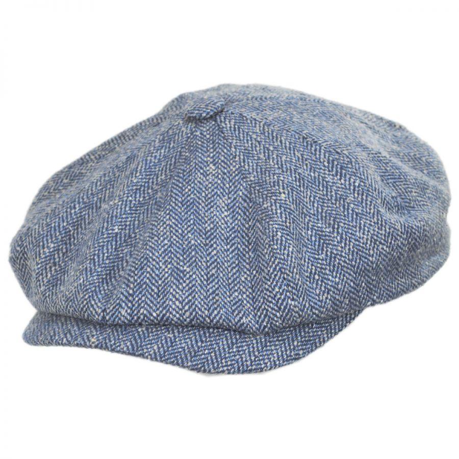 e27352de59c Stetson Herringbone Silk Newsboy Cap Newsboy Caps