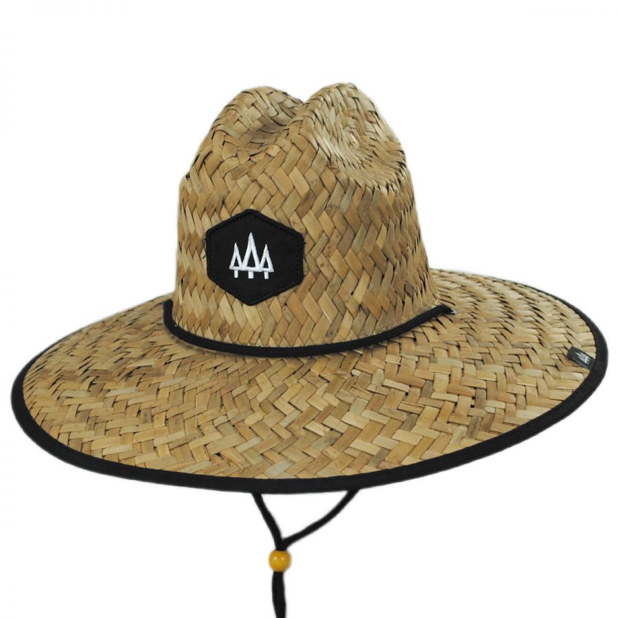 3eaccf93 Blackout Straw Lifeguard Hat
