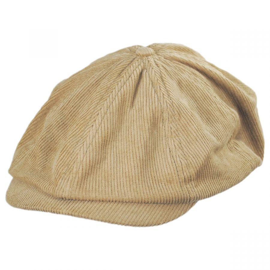273182b5 Brixton Hats Brood Adjustable Corduroy Newsboy Cap Newsboy Caps