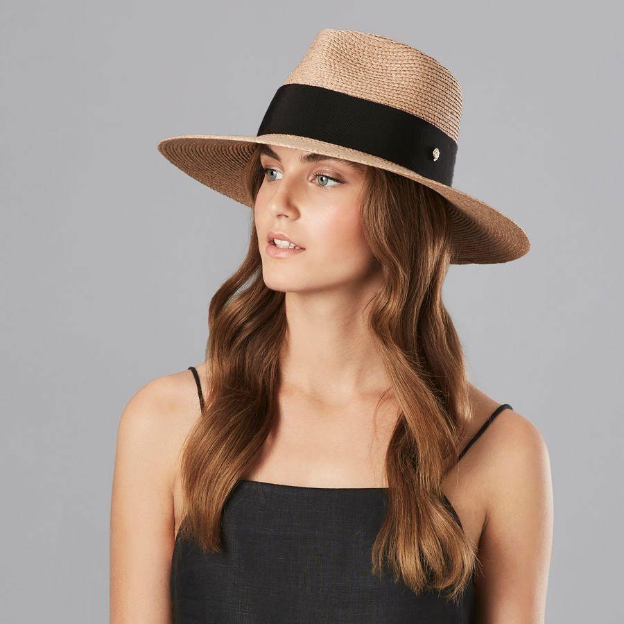 b2939a4fa Plath Raffia Braid Fedora Hat