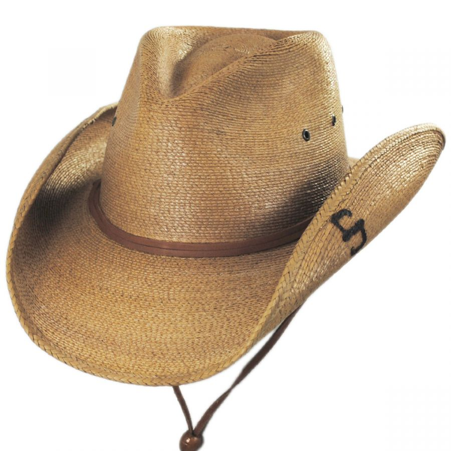 f672d4e9978 Stetson Contoy Palm Straw Western Hat Western Hats