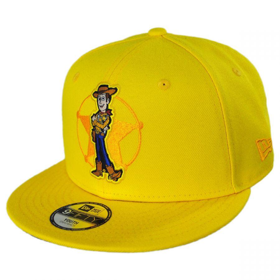 the best attitude 9644f 5dae0 Disney Toy Story Woody 9Fifty Youth Snapback Baseball Cap