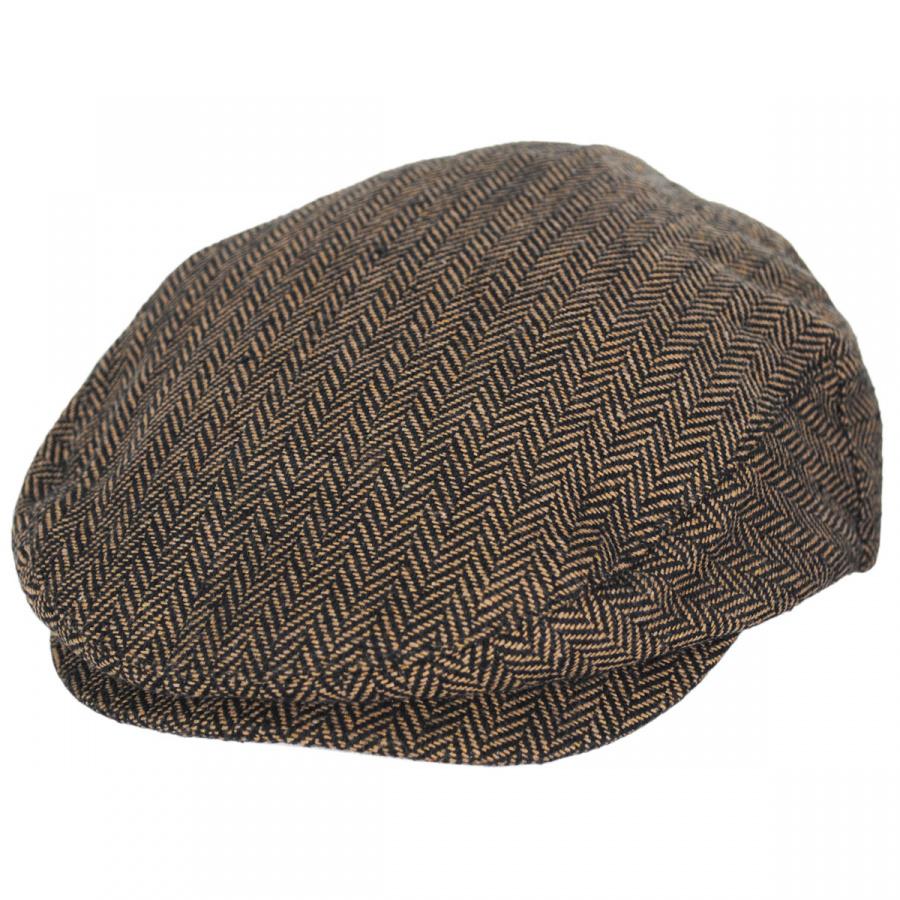 45a3c5421b914 Brixton Hats Hooligan Herringbone Wool Blend Ivy Cap Ivy Caps