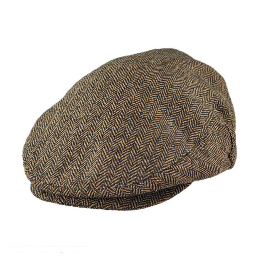 7ca3faafc2d Brixton Hats Hooligan Herringbone Wool Blend Ivy Cap Ivy Caps