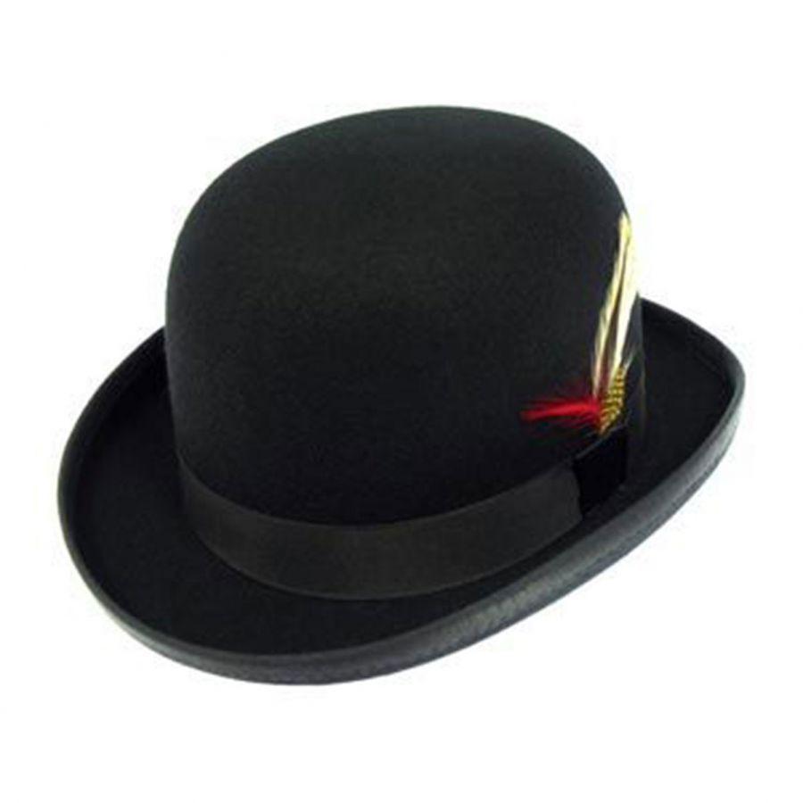 Capas Headwear Kids  Wool Felt Derby Hat Derby   Bowler Hats f69b18dd6ac7