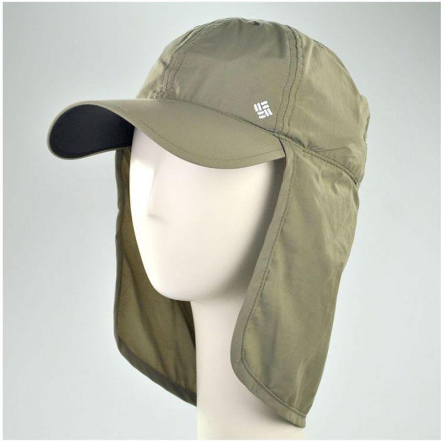 ee880a1c26a49 Columbia Sportswear Schooner Bank Cachalot Neckflap Baseball Cap All ...