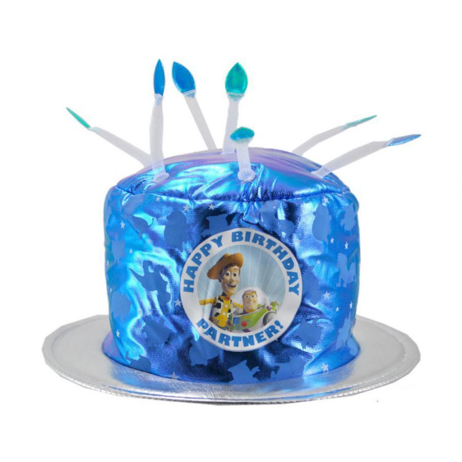 Disney Toy Story Birthday Cake Hat Kids Novelty Hats