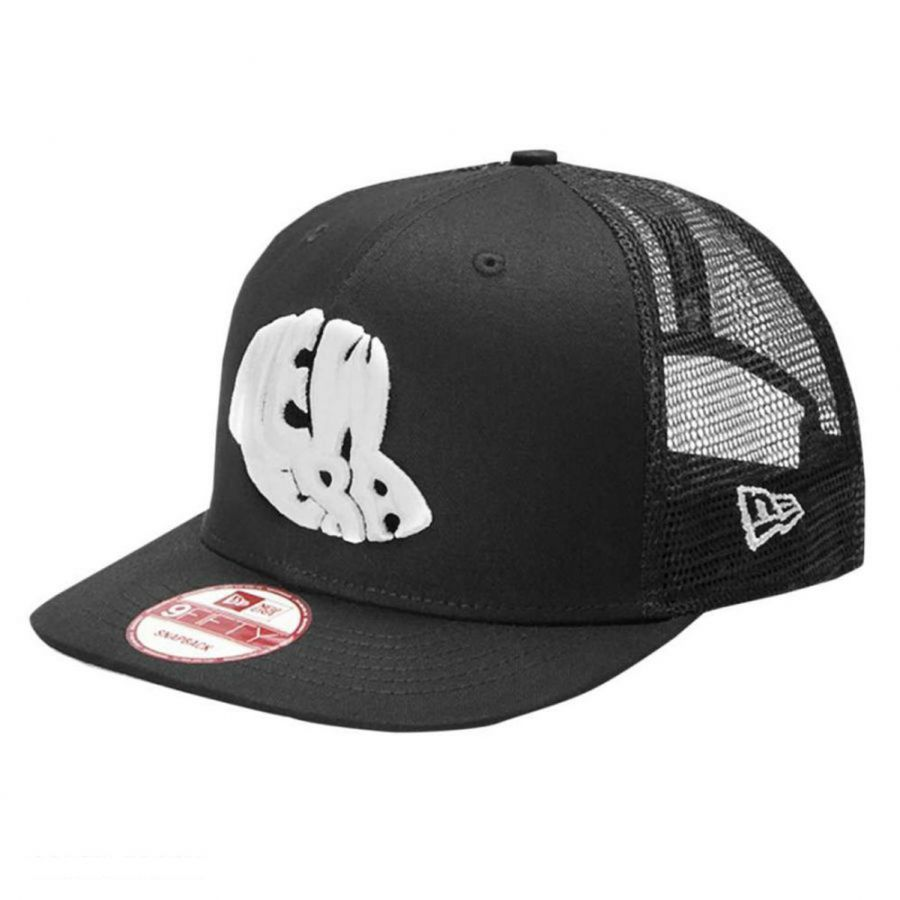 ek collection by new era logo trucker sv 9fifty snapback