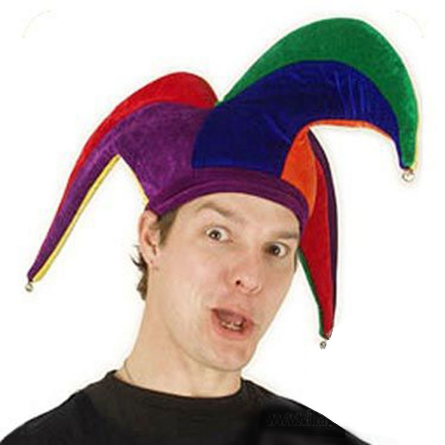 Elope Court Jester Hat Novelty Hats - View All 7a6fd42c727