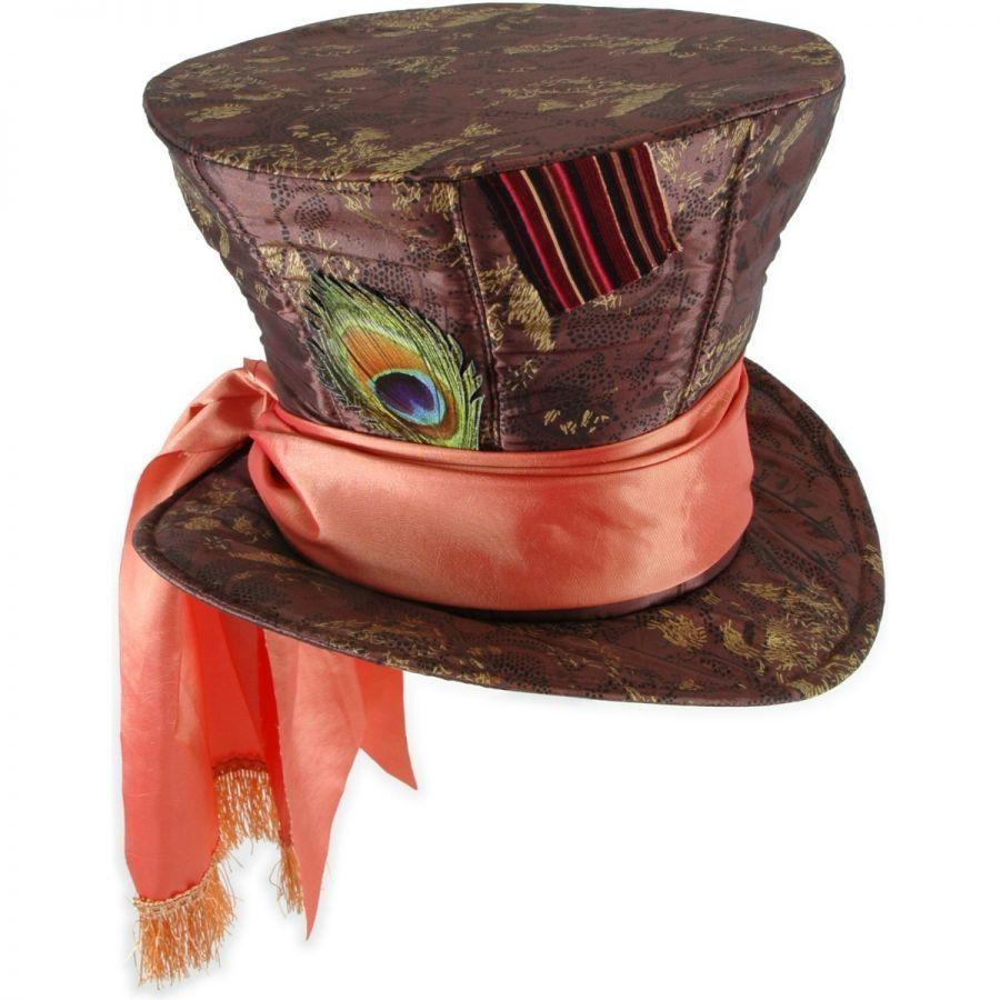 disney alice in wonderland mad hatter top hat mad hatter