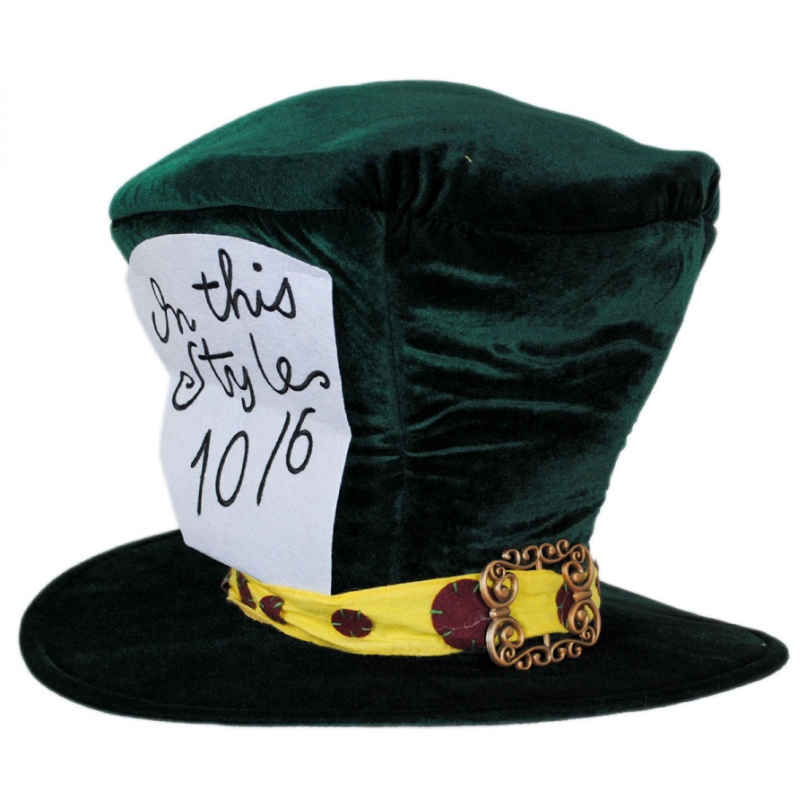 Elope Mad Hatter Top Hat Novelty Hats - View All 625831da46d