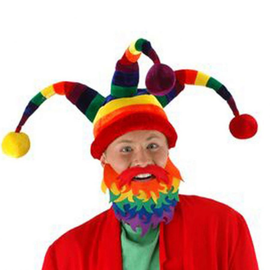 Elope Wacky Jester Hat Novelty Hats - View All a8661270923