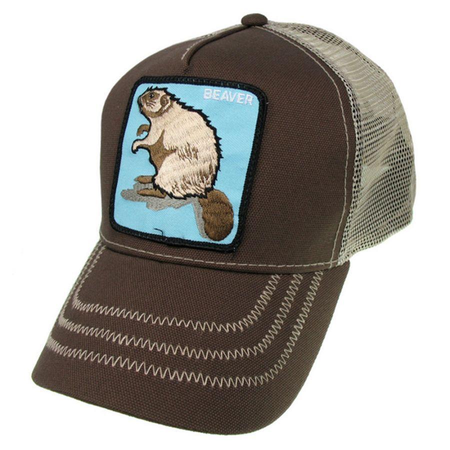 Goorin Bros Beaver Mesh Trucker Snapback Baseball Cap All Baseball Caps 2b84a3a683fe