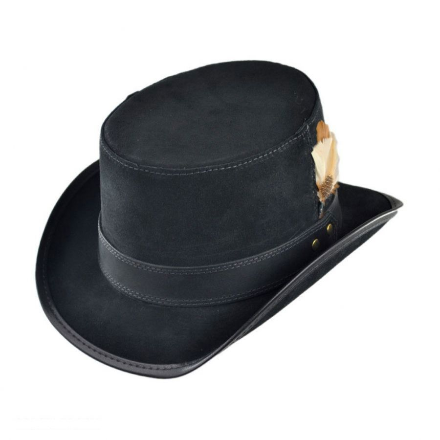 23e57d1b139 Head  N Home Stoker Suede Topper Hat Top Hats