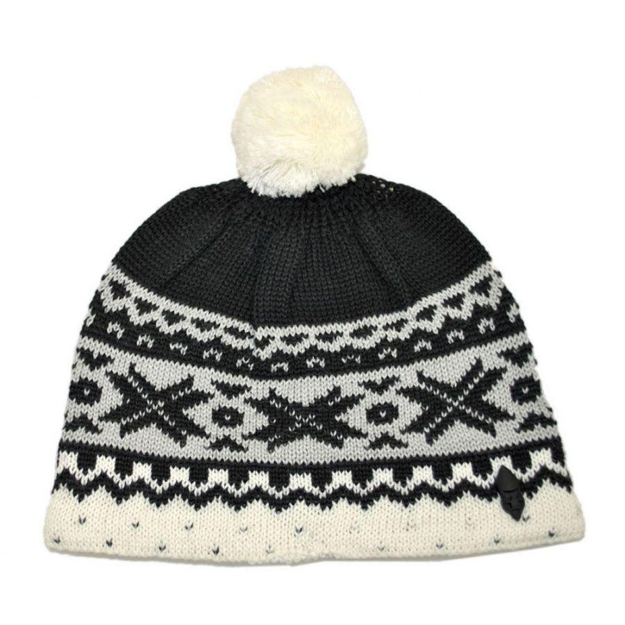 Beanie Hat Knitting Pattern For Kids : Ignite Beanies Kids Cream Knit Beanie Hat Beanies