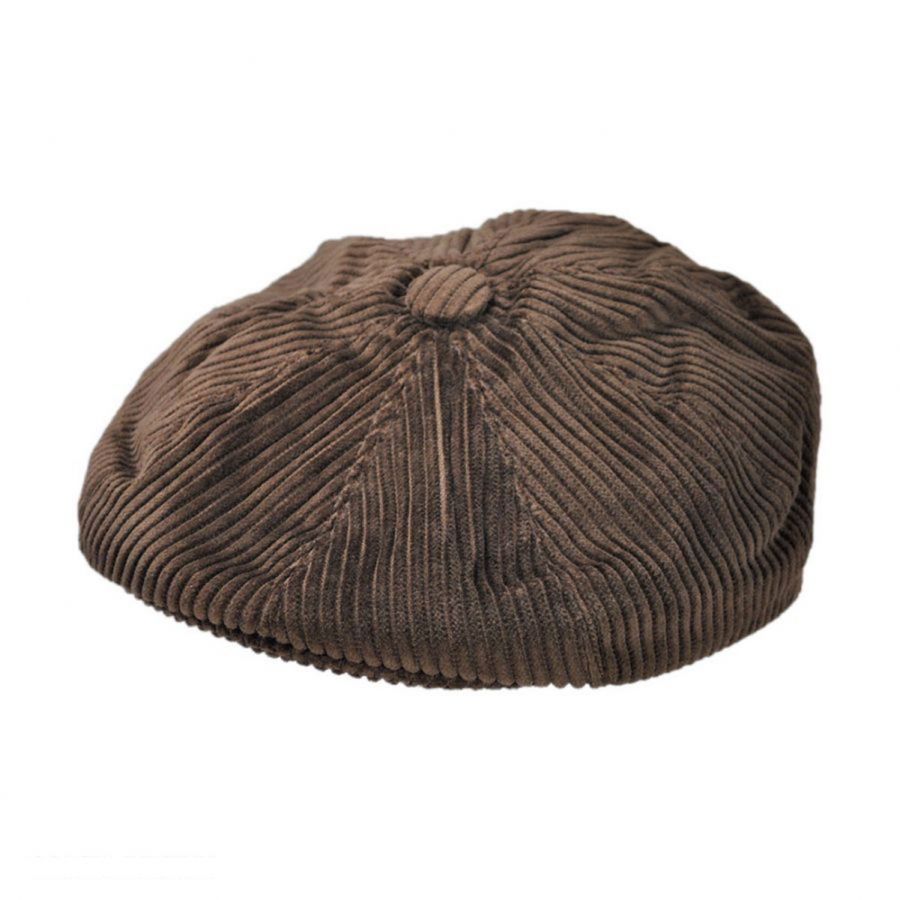 a58058bd51672f Corduroy Wide Wale Cotton Newsboy Cap alternate view 6 · Jaxon Hats