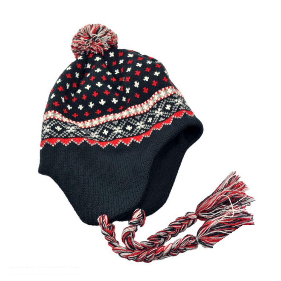 Jaxon Hats El Toro Knit Peruvian Beanie Hat Beanies a17d894ce98