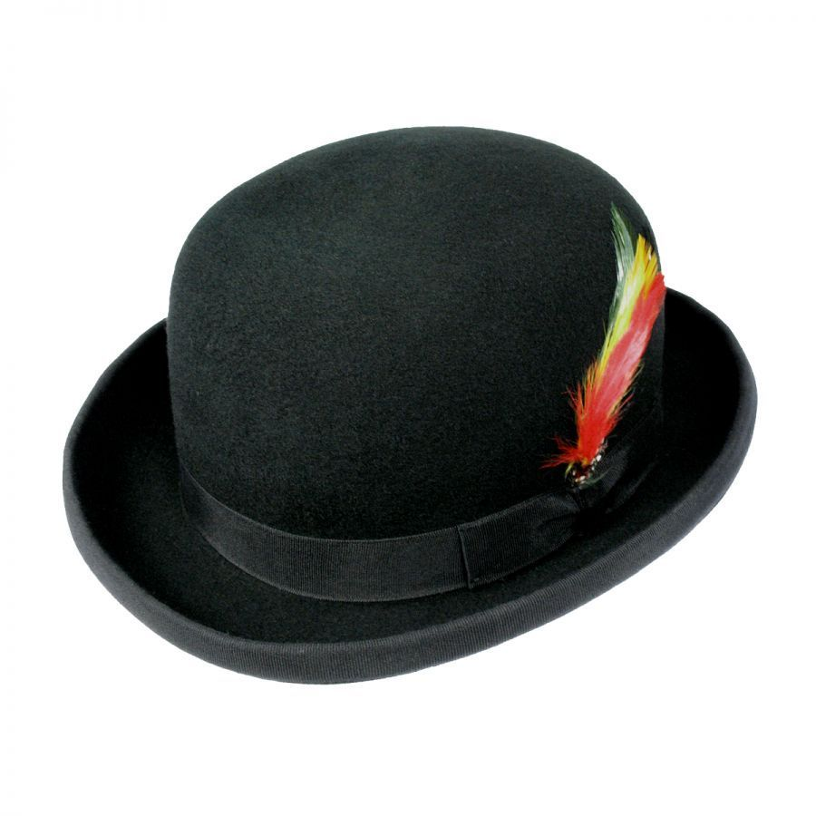 360a0e61cfd0d Jaxon Hats English Wool Felt Derby Hat Derby   Bowler Hats
