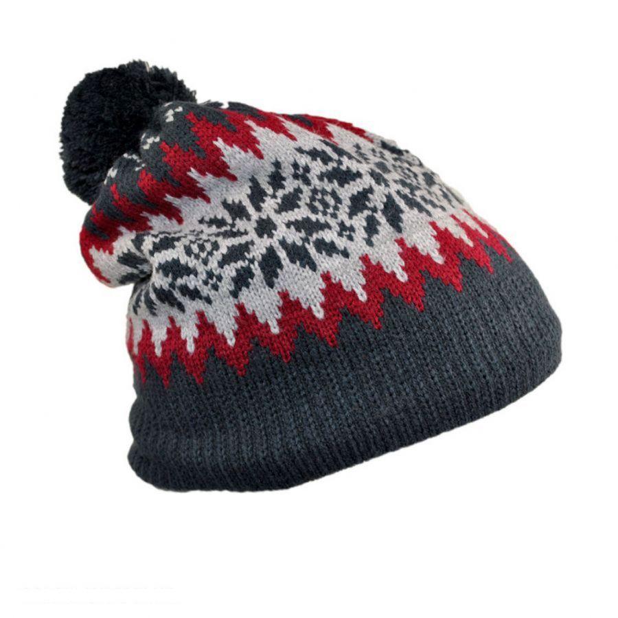 98dfc5dec Fair Isle Knit Beanie Hat