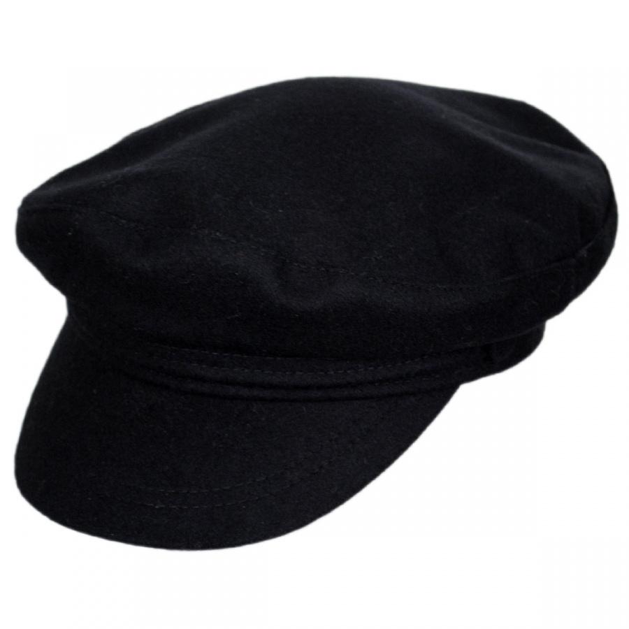 Jaxon Hats Wool Fiddler s Cap Greek Fisherman Caps 38e2d63e3