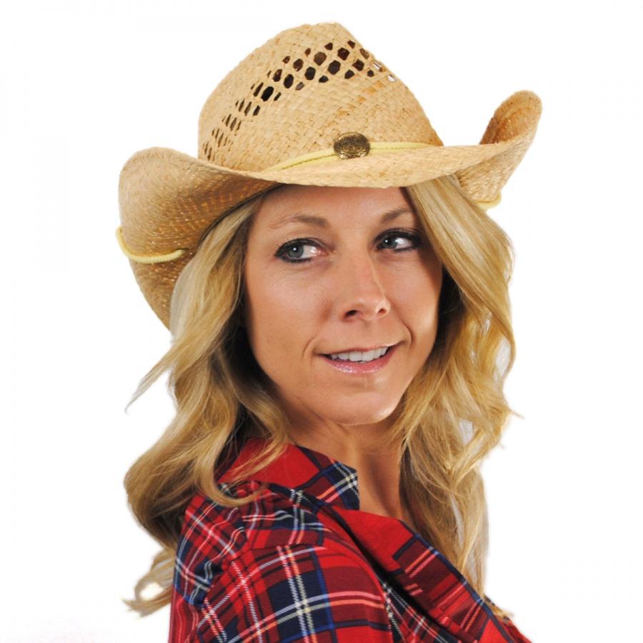 Jaxon Hats Maggie May Straw Western Hat Casual Hats