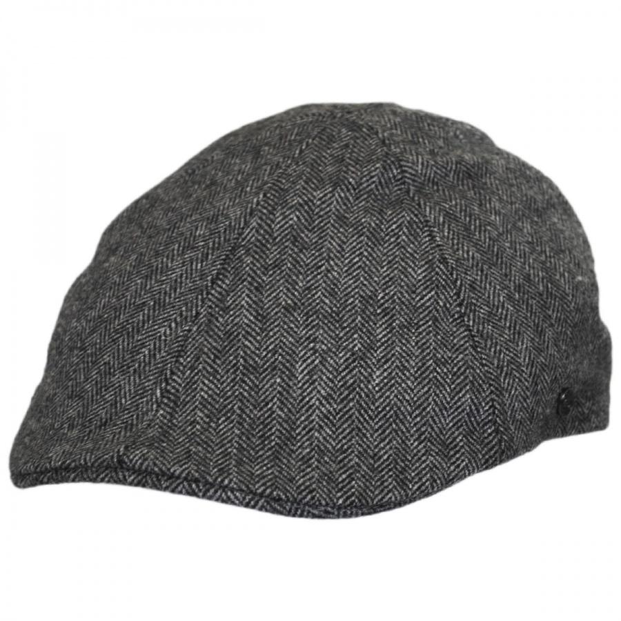 Jaxon Hats Herringbone Wool Blend Duckbill Ivy Cap Duckbills 70c89f99b120
