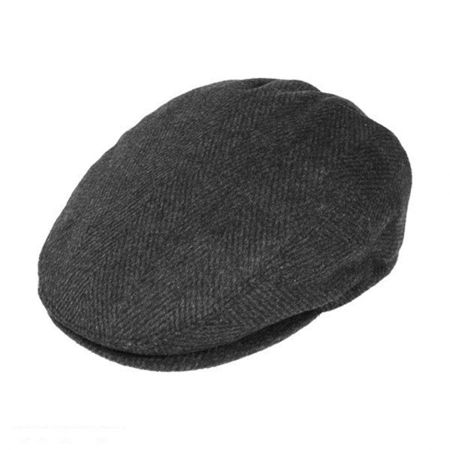 Jaxon Hats Large Herringbone Wool Blend Ivy Cap Ivy Caps