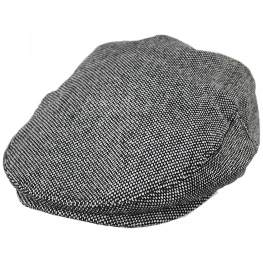 Jaxon Hats Marl Tweed Wool Blend Ivy Cap Ivy Caps 22e62297652