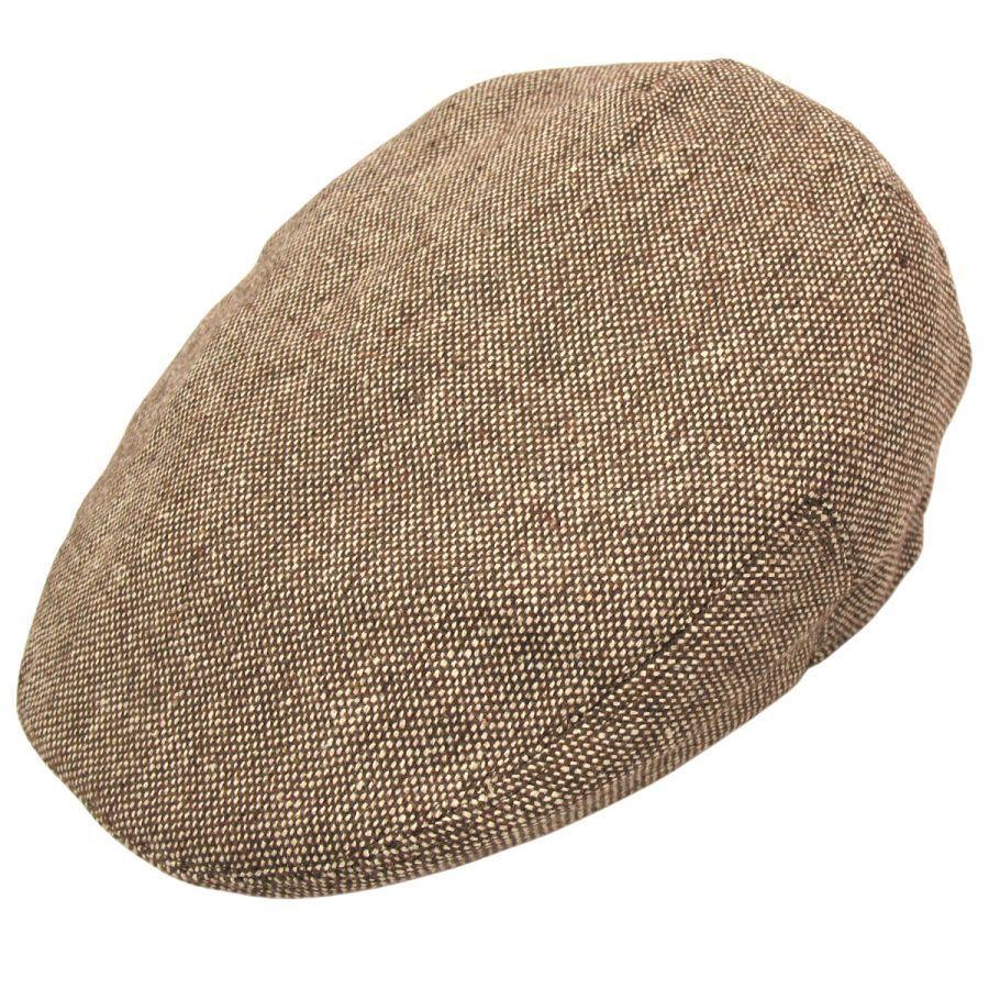 3e0dd91a98c Jaxon Hats Marl Tweed Wool Blend Ivy Cap Ivy Caps