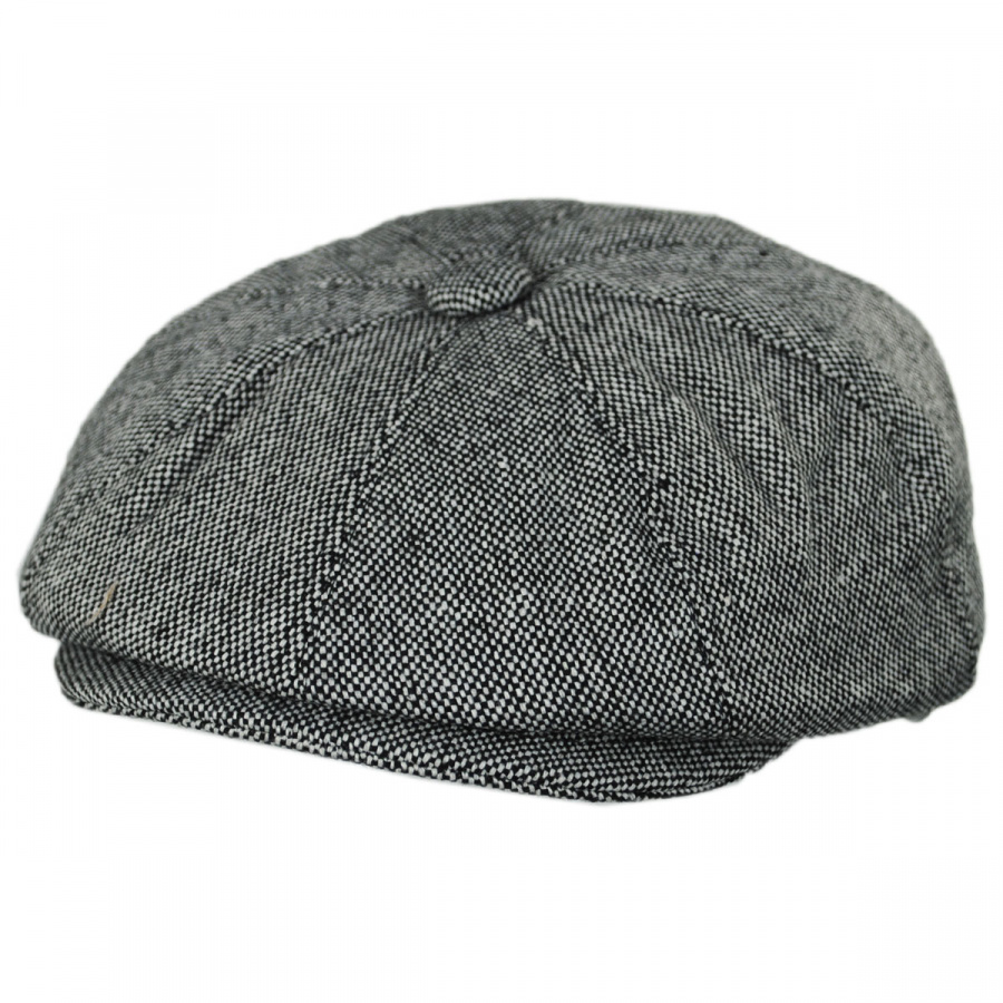 Jaxon Hats Marl Tweed Wool Blend Newsboy Cap Newsboy Caps c6cd46d01a5