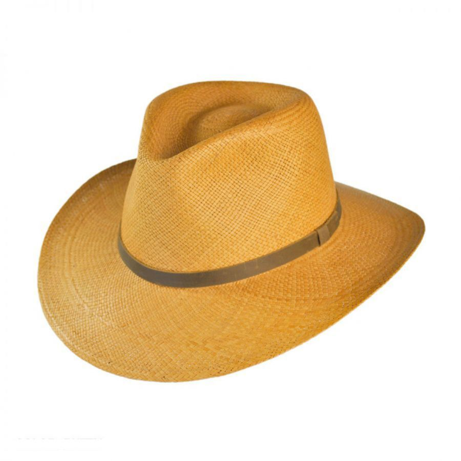 Jaxon Hats MJ Panama Straw Outback Hat Straw Hats a8a68e745b8