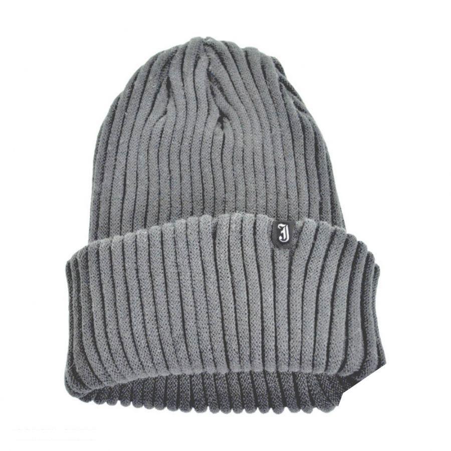 Jaxon Hats Slouchy Rib Knit Acrylic Beanie Hat Beanies