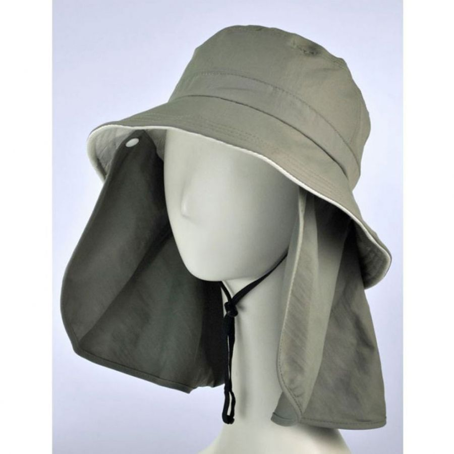 5c5ab255 Juniper UV Protection Detachable Flap Bucket Hat Bucket Hats
