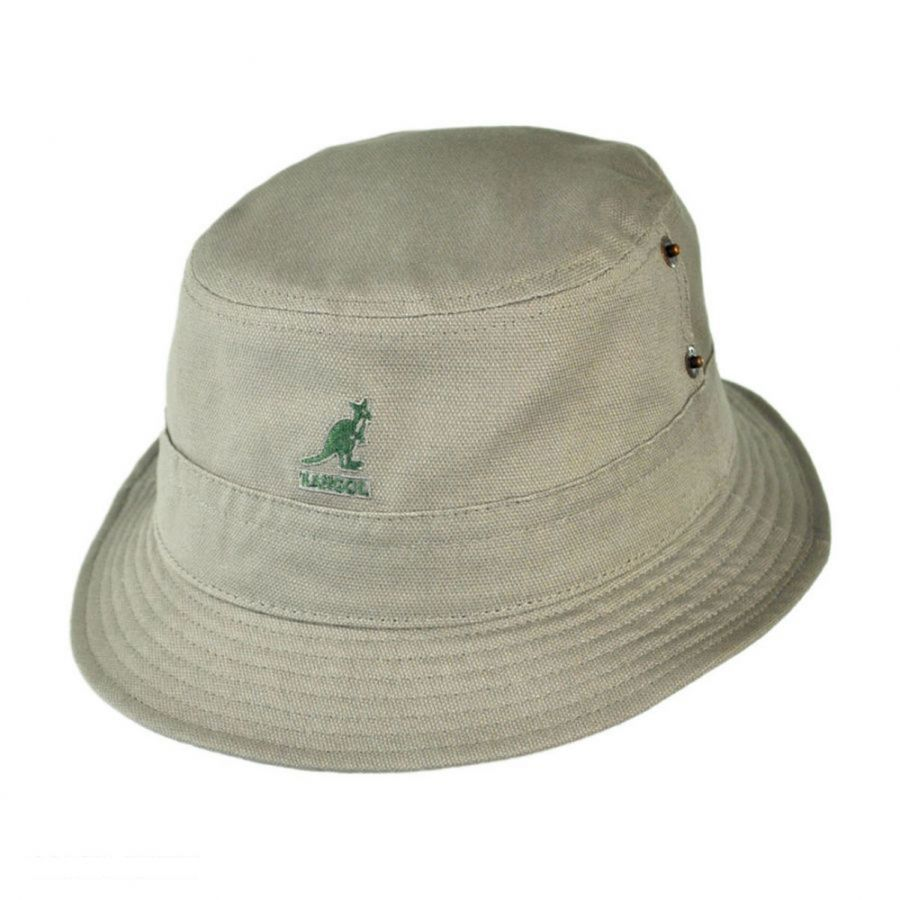 Kangol Canvas Lahinch Bucket Hat Bucket Hats c4ae2091f3