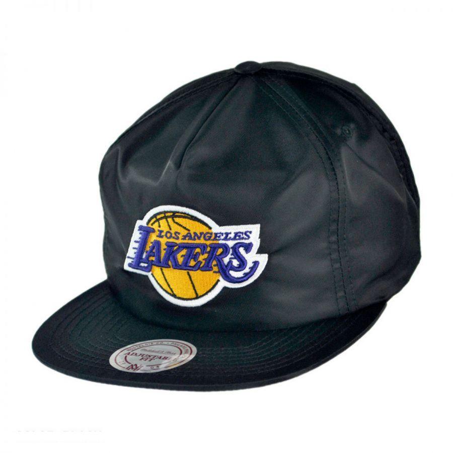 Nba Basketball Los Angeles Lakers: Mitchell & Ness Los Angeles Lakers NBA Zipback Baseball