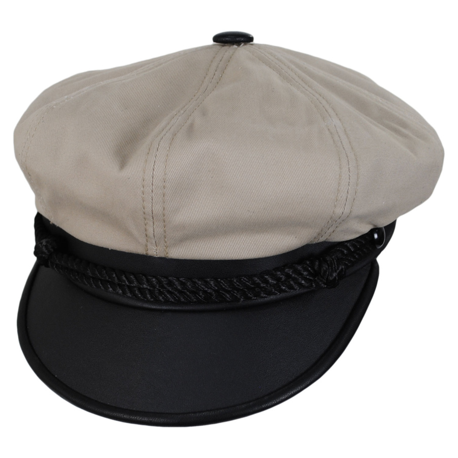 New York Hat Company Brando Cotton Canvas Cap Newsboy Caps ffc937fc199