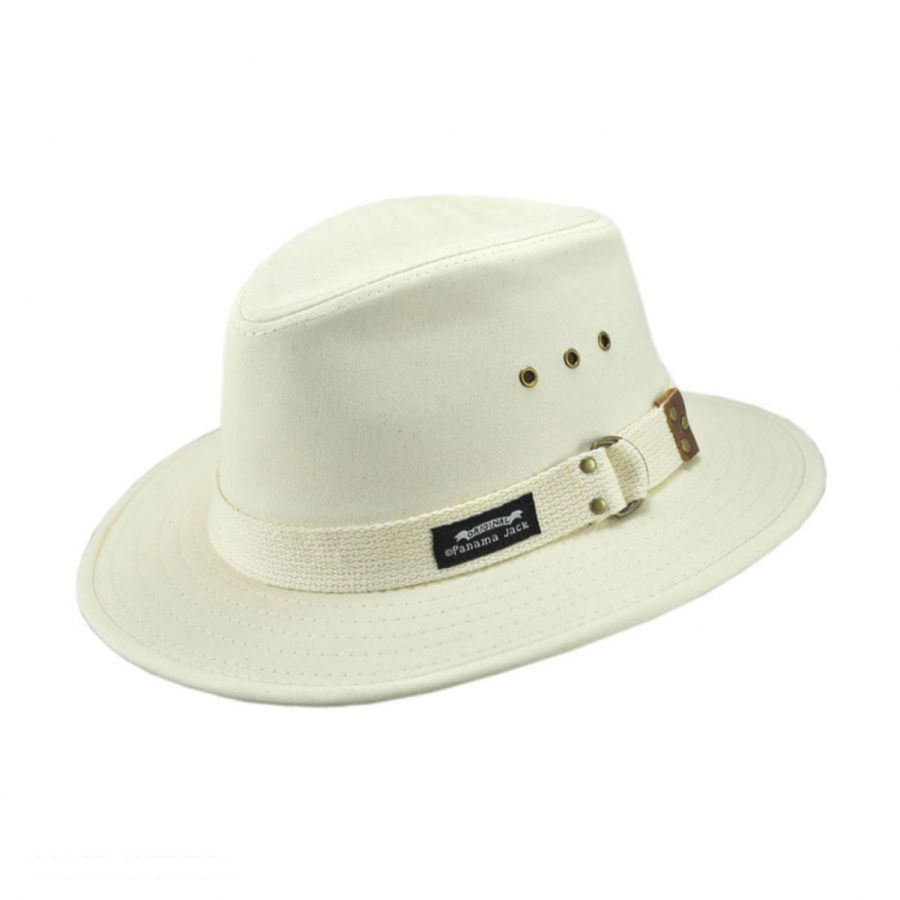 Cotton Canvas Safari Fedora Hat alternate view 3 · Panama Jack d9308c91857c