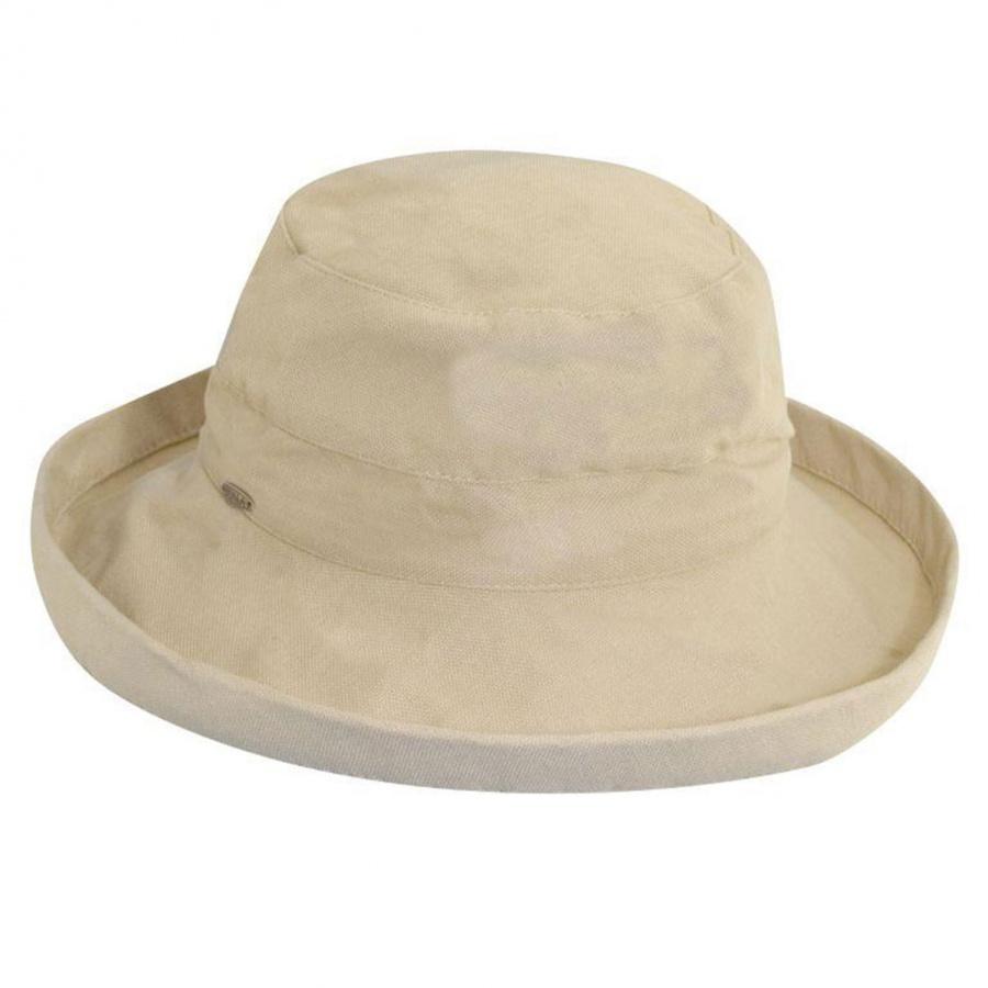 ca0e34dcf55 Scala Lahaina Cotton Sun Hat Sun Protection